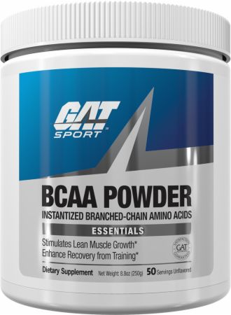 Image of BCAAs Unflavored 250 Grams - Amino Acids & BCAAs GAT Sport