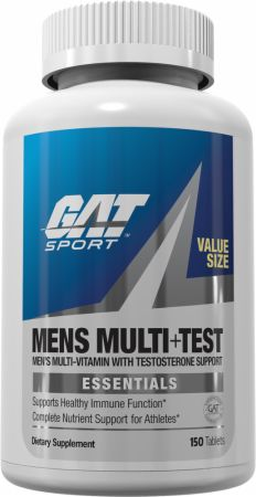 Image of Mens Multi+Test 150 Tablets - Men's Multivitamins GAT Sport