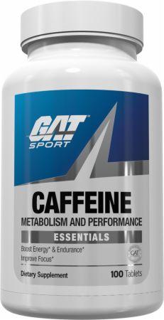 Image of Caffeine 100 Tablets - Caffeine / Stimulants GAT Sport