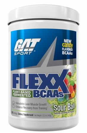 Image of Flexx BCAAs Sour Ball 30 Servings - Amino Acids & BCAAs GAT Sport