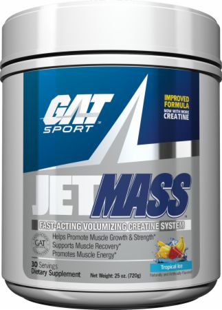Image of JetMASS Tropical Ice 30 Servings - Post-Workout Recovery GAT Sport