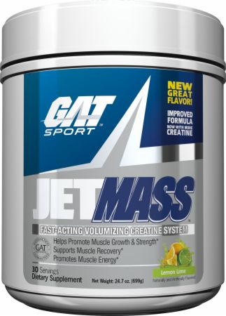 Image of JetMASS Lemon Lime 30 Servings - Post-Workout Recovery GAT Sport