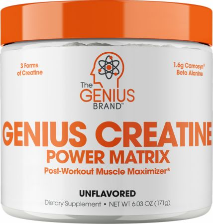 Image of Genius Creatine Power Matrix Unflavored 25 Servings - Creatine The Genius Brand