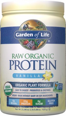 Image of RAW Organic Protein Vanilla 20 Servings - Protein Powder Garden Of Life