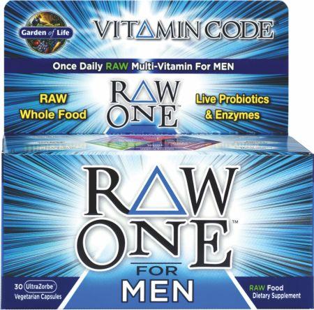 Garden of life raw one for men at best - Garden of life raw probiotics men ...