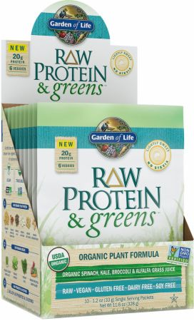 Garden of Life Raw Protein and Greens at Bodybuildingcom Best