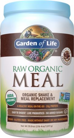 Garden Of Life RAW Organic Meal Chocolate Cacao 28 Servings...