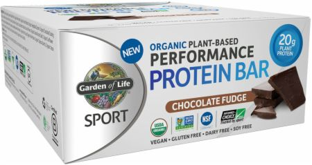 Sport Organic Plant-Based Performance Protein Bar