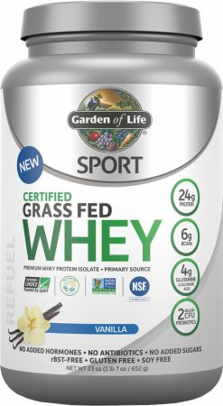 SPORT Certified Grass Fed Whey
