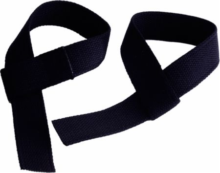 Image of GoFit Cotton Wrist Straps Black