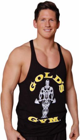 Image of Gold's Gym Muscle Joe Premium Stringer Tank XL Black