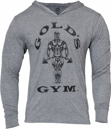 Muscle Joe Tri Blend Long Sleeve Hoodie