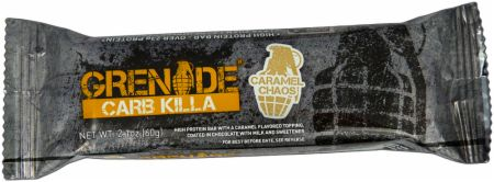 Image of Carb Killa Protein Bar Caramel Chaos 1 - 60g Bar - Protein Bars Grenade