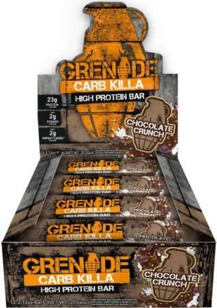 Grenade Carb Killa Chocolate Crunch 12 - 60g Bars - Protein Bars