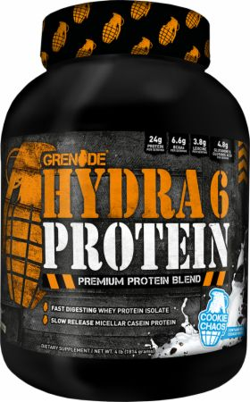 Grenade Whey Protein Powder | 24g Whey Casein Protein per Serving | Low Net Carb Low Fat | Slow Fast Protein Blend