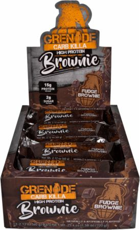 Carb Killa Brownie Protein Bar