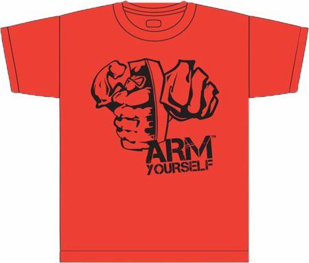 Image of Grenade AT4 Angry Grenade T-Shirt Large Red