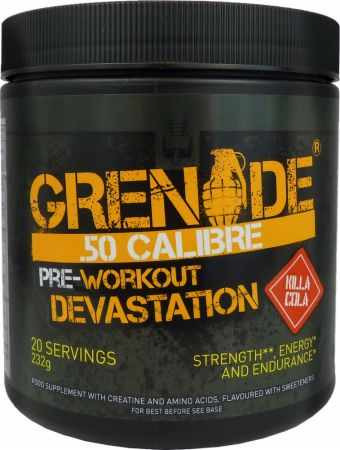 Image of .50 Calibre Killa Cola 232 Grams - Pre-Workout Supplements Grenade