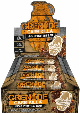 Image of Grenade Carb Killa 12 - 60g Bars Caramel Chaos