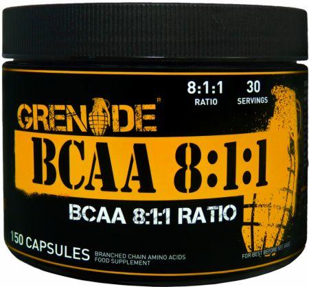 Image of Grenade BCAA's 8:1:1 150 Capsules
