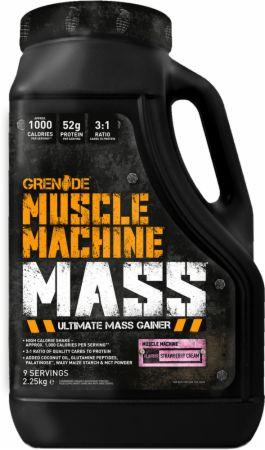 Grenade Muscle Machine Mass 2.25 Kilograms Strawberry Cream