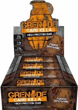 Image of Grenade Carb Killa 12 - 60g Bars Fudge Brownie