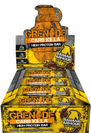 Image of Grenade Carb Killa 12 - 60g Bars Banana Armour