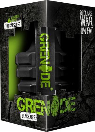 Image of Black Ops 100 Capsules - Fat Burners Grenade