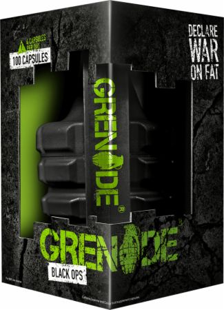 Image of Black Ops 44 Capsules - Fat Burners Grenade