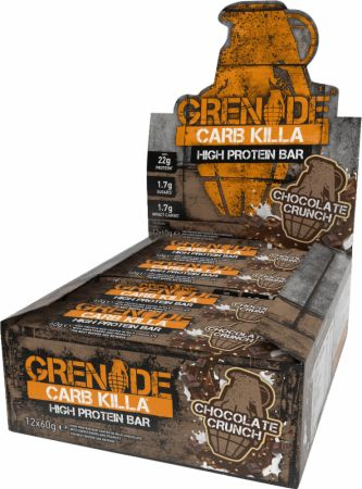 Image of Grenade Carb Killa 12 - 60g Bars Chocolate Crunch