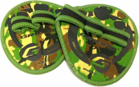 Image of Weight Lifting Gloves Camouflage - Workout Gloves GRIPAD