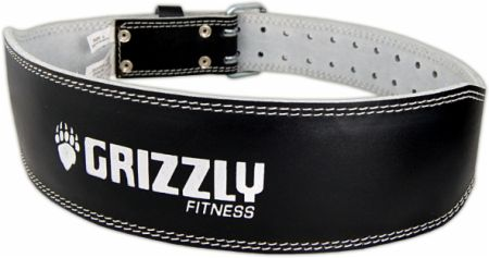 """Image of Grizzly 4 Padded Pacesetter Belt Medium Black """""""