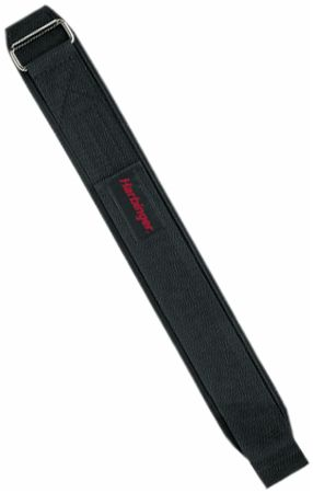 Image of Harbinger 4 Pro Nylon Lifting Belt Large Black ""