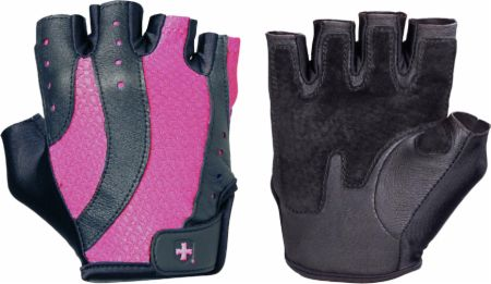 Image of Harbinger Women's Pro Gloves Large Black/Pink