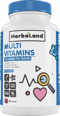 Image of Multivitamin Gummies for Adults Berry 45 Servings - Multivitamins Herbaland