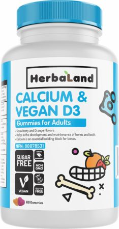 Calcium & Vegan D3 Gummies