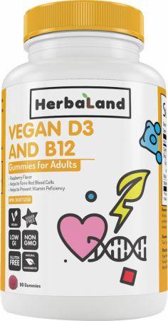 Vegan D3 and B12 Gummies