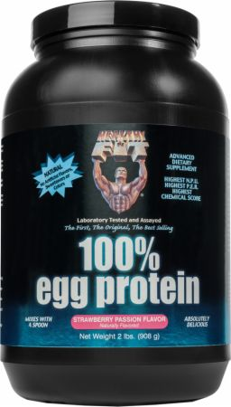 Image of 100% Egg Protein Strawberry Passion 2 Lbs. - Protein Powder Healthy 'N Fit
