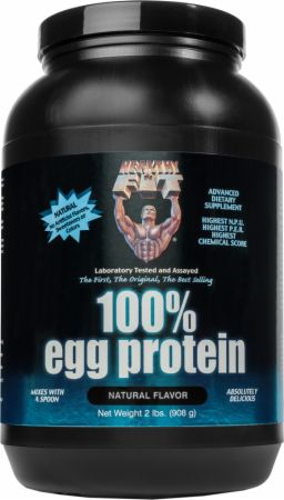 Image of 100% Egg Protein Natural 2 Lbs. - Protein Powder Healthy 'N Fit