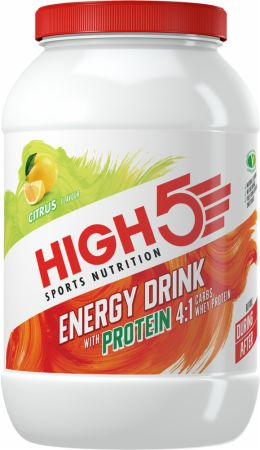 Image of Energy Drink with Protein Citrus 1.6 Kilograms - Energy Drinks HIGH5