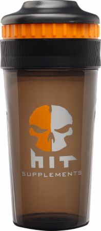Image of HIT Supplements Pro Series Elite Shaker 24 Oz. Black