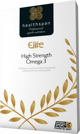 Image of Elite High Strength Omega 3 120 Capsules - Cardiovascular Health Healthspan