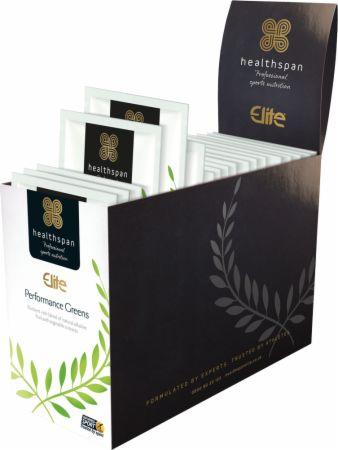 Image of Healthspan Elite Performance Greens 30 Sachets Lime