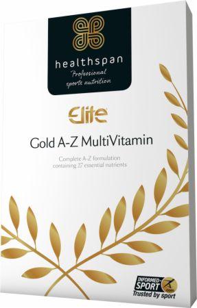Image of Elite Gold A-Z Multivitamin 120 Tablets - Multivitamins Healthspan
