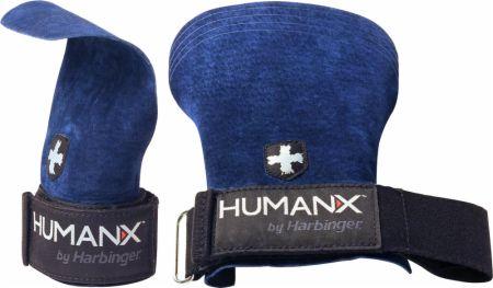 Image of Harbinger HumanX Palm Grips S/M Blue/Black