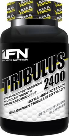 Image of Tribulus 2400 90 Capsules - Testosterone Support iForce Nutrition