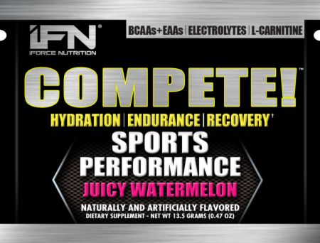 Image of iForce Nutrition Compete 10 Packets Juicy Watermelon