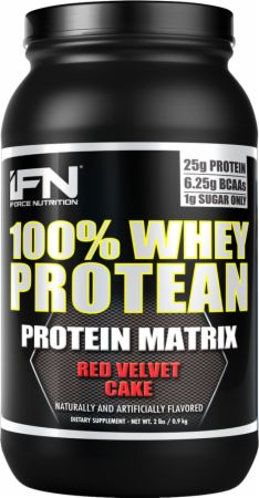 iForce Nutrition 100% Whey Protean Red Velvet Cake 2 Lbs. - Protein Powder