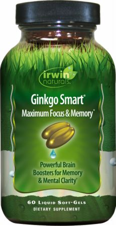 Irwin Naturals Advanced Ginkgo Smart