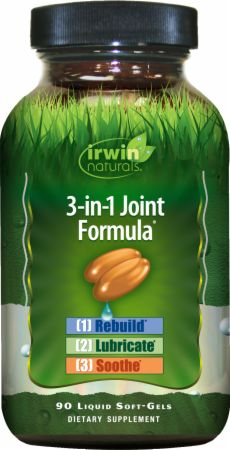 Image of 3-in-1 Joint Formula 90 Liquid Softgels - Joint Support Irwin Naturals